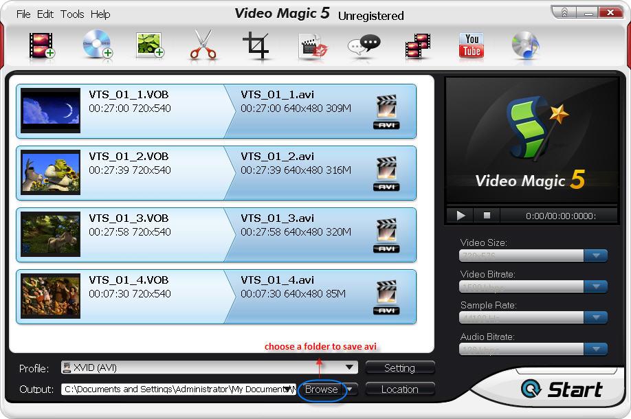 choose-a folder-to-save-avi-files
