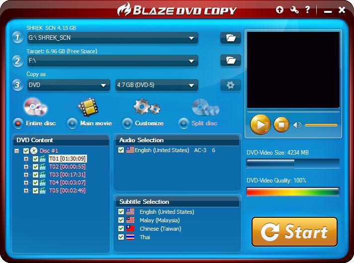 content - BlazeVideo DVD Copy ( Kampanya 2 Gün )