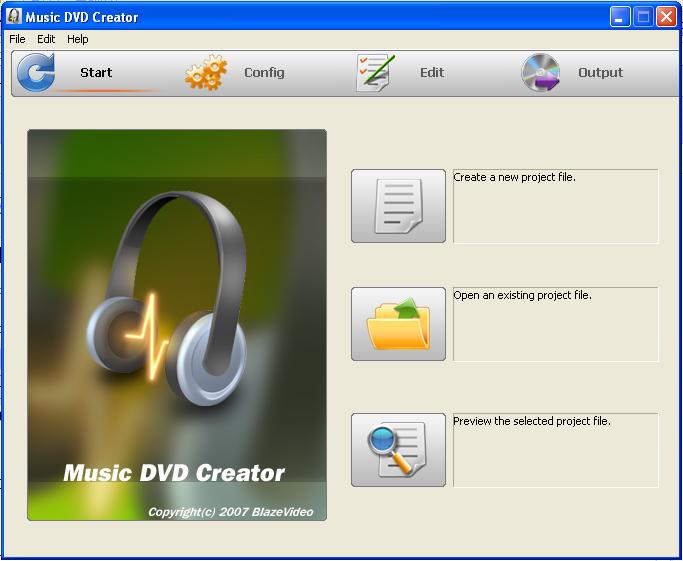music dvd creator: