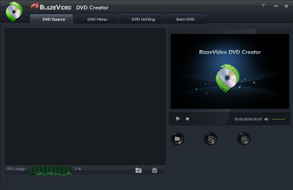 BlazeVideo DVD Creator - DVD 刻录软件