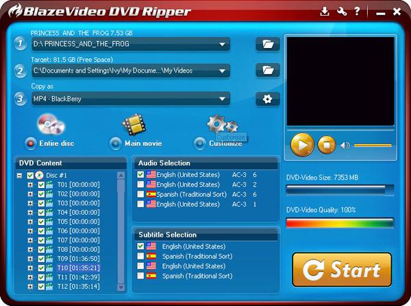 """BlazeVideo DVD Ripper – DVD 烧录软件丨""""反""""斗限免"""