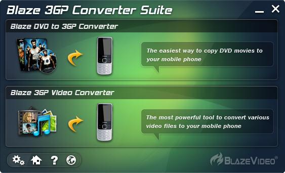 Click to view BlazeVideo 3GP Converter Suite 2.0.4.0 screenshot