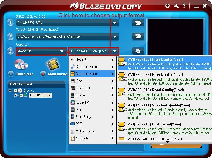 How to copy DVD to AVI | Blazevideo Blog