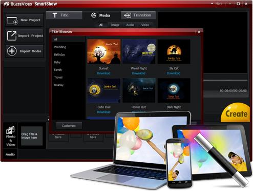 "BlazeVideo SmartShow – 视频制作软件丨""反""斗限免"
