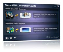 Click to view Blaze PSP Converter Suite 2.0.4.0 screenshot